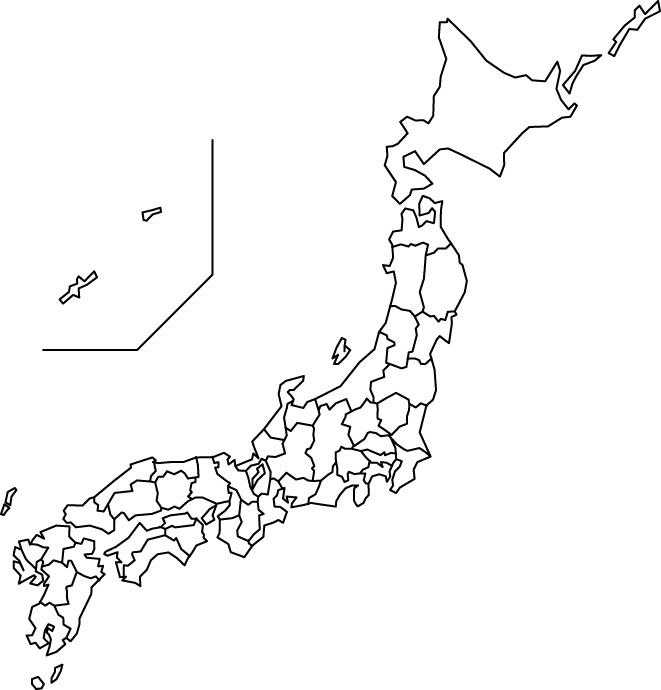 apple.fool | 白地図 : 日本白地図ダウンロード : 日本